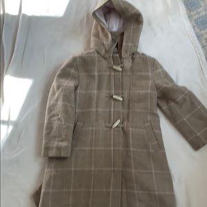 Jacadi toggle front wool dress coat.